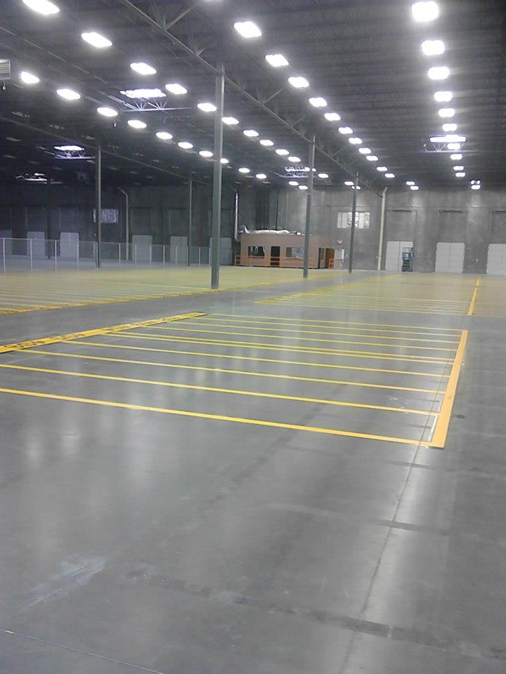 Warehouse Striping Stripe A Zone