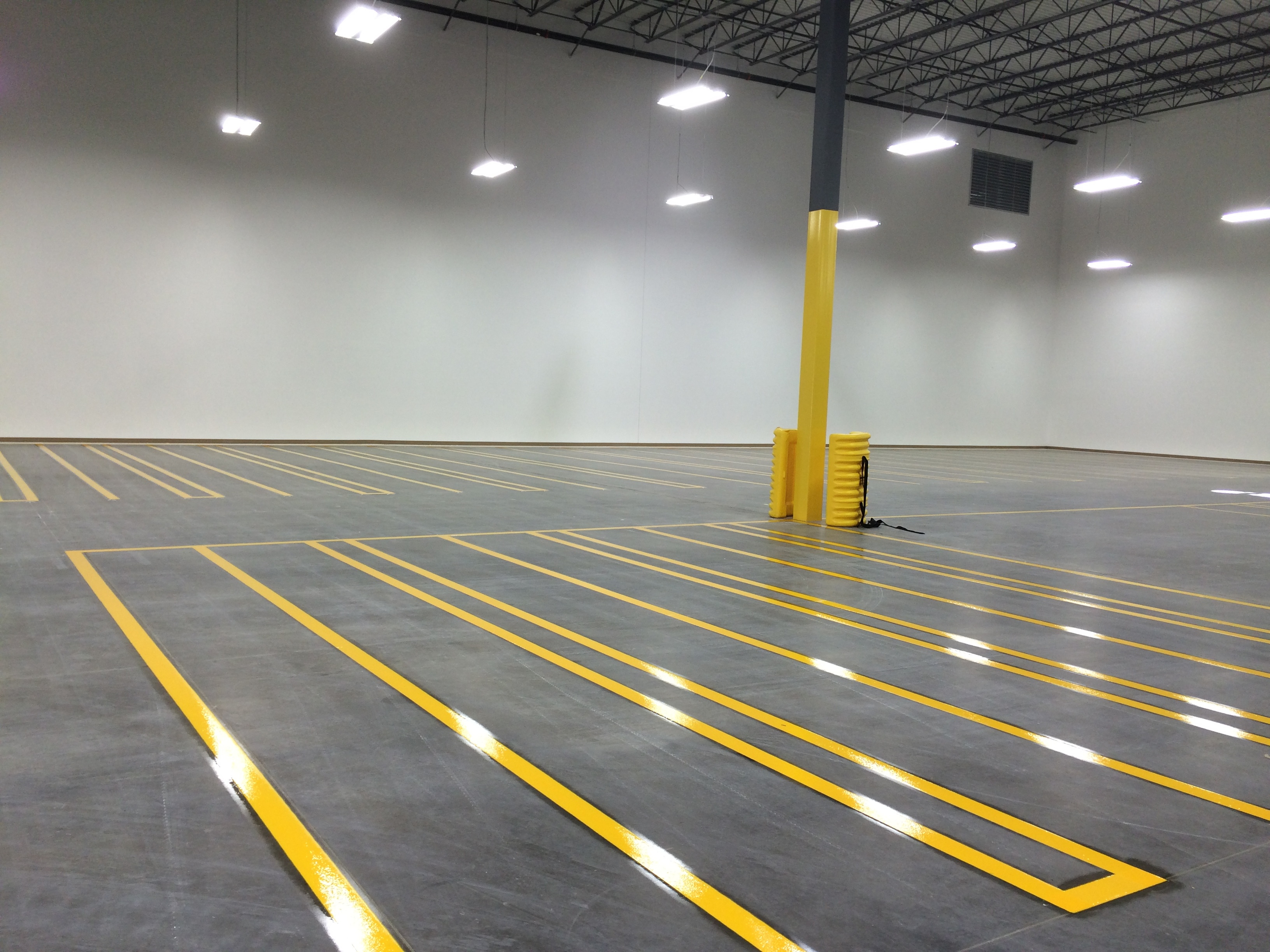 Warehouse Striping Stripe A Zone